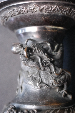 JAPANESE BRONZE LANTERN,19th foto 5