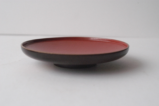 JAPANESE RED LACQUER BOWL diam 14.4cm.foto 3
