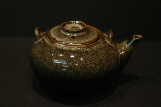 JAPANESE tea pottery meiji period h 8.5 cm diam 13 cm € 200