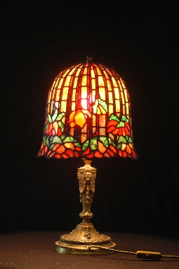 Tiffany lamp lotus 12