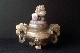 CHINESE-ART JADE CENSER 19th 15 cm.foto 5