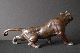 JAPANESE BRONZE TIGER 19th signed 27.5*58 cm. foto 3