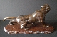 JAPANESE BRONZE TIGER 19th signed 27.5*58 cm. foto 6