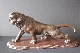 JAPANESE BRONZE TIGER 19th signed 27.5*58 cm. ORDER INQUIRE...