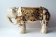 JAPANESE SATSUMA ELEPHANT meiji period 36 cm. restored. SOLD!